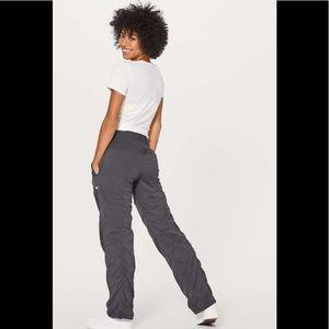 Lululemon Dance Studio Pants Lined Joggers Swift Stretch Pockets Drawcord M Rise